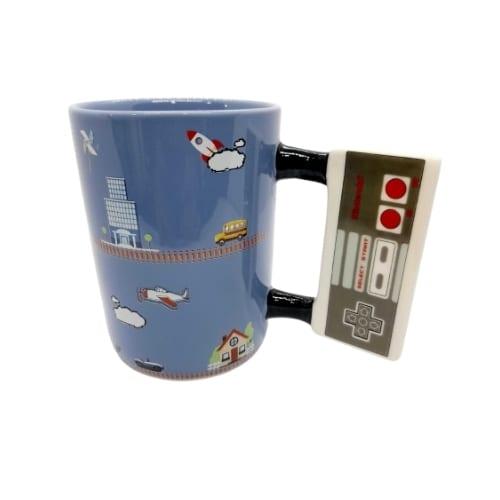 Mug Cerámico Game Retro PT Nintendo Videojuegos 16  onzas