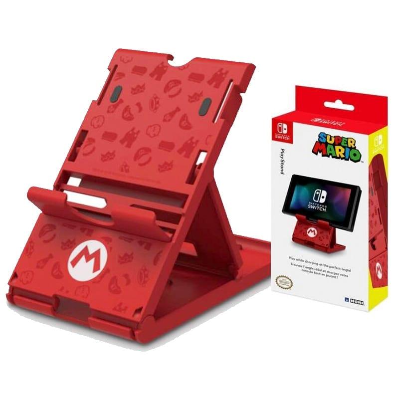 HORI Soporte para Nintendo Switch Super Mario Licenciado por Nintendo (Entrega de 4 a 5 semanas una vez realizado el pago)