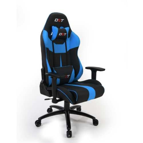 Silla Gamer DXT Videojuegos Poseidon Light Blue