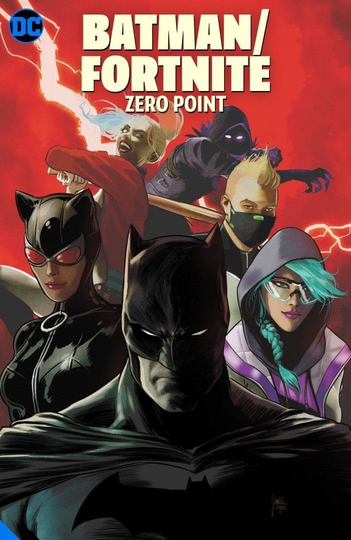 Comic Batman/Fortnite DC Comics Zero Point (Pre-Venta Llegada Aproximada Septiembre)