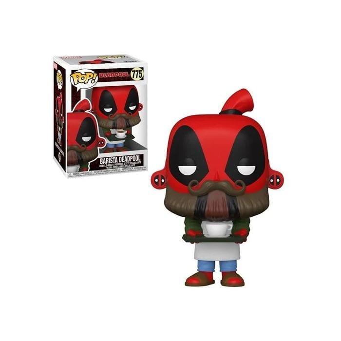 Figura Barista Deadpool Funko POP Marvel