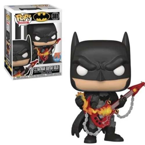 Figura Batman Death Metal Funko POP DC Comics Guitar Solo Previews Exclusive