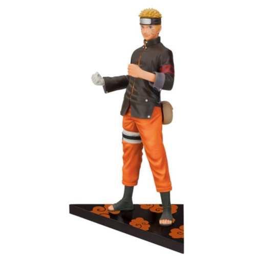 """Figura Naruto Uzumaki PT Naruto Shipudden Anime Base Triangular 7"""""""