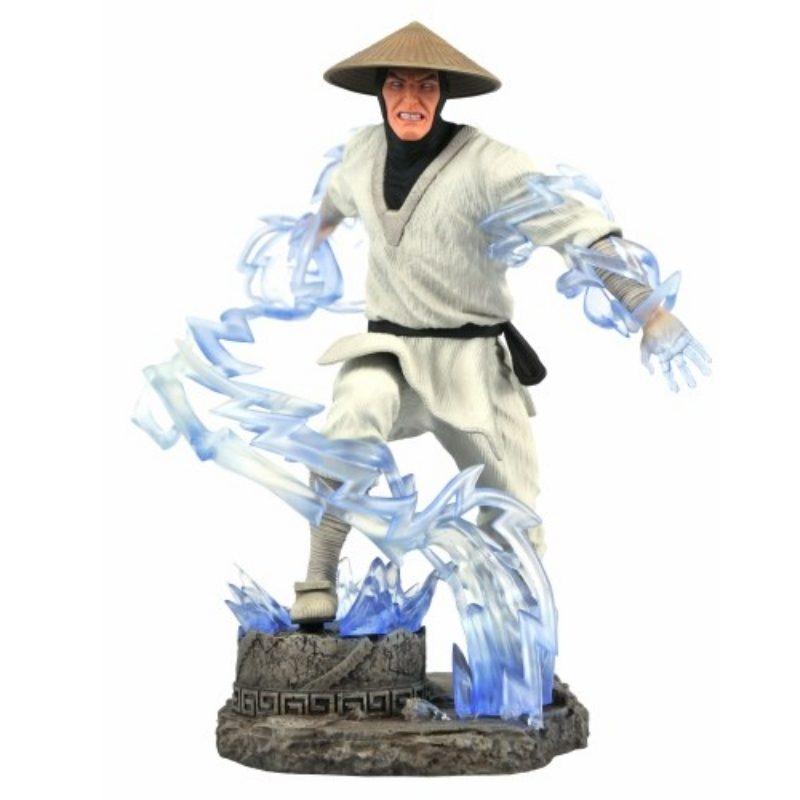 Estatuilla Raiden Gallery Diorama Mortal Kombat Videojuegos