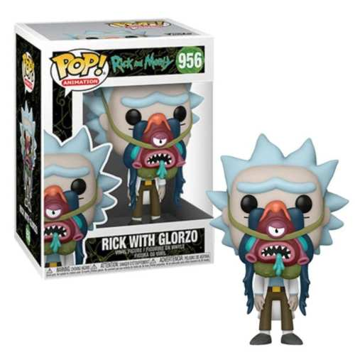 Figura Rick With Glorzo Funko POP Rick And Morty Animados