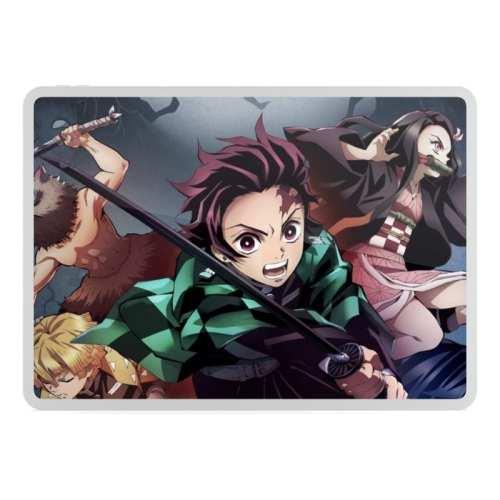 Pad mouse Kimetsu No Yaiba PT Demon Slayer Anime Alfombrilla de ratón 22x18