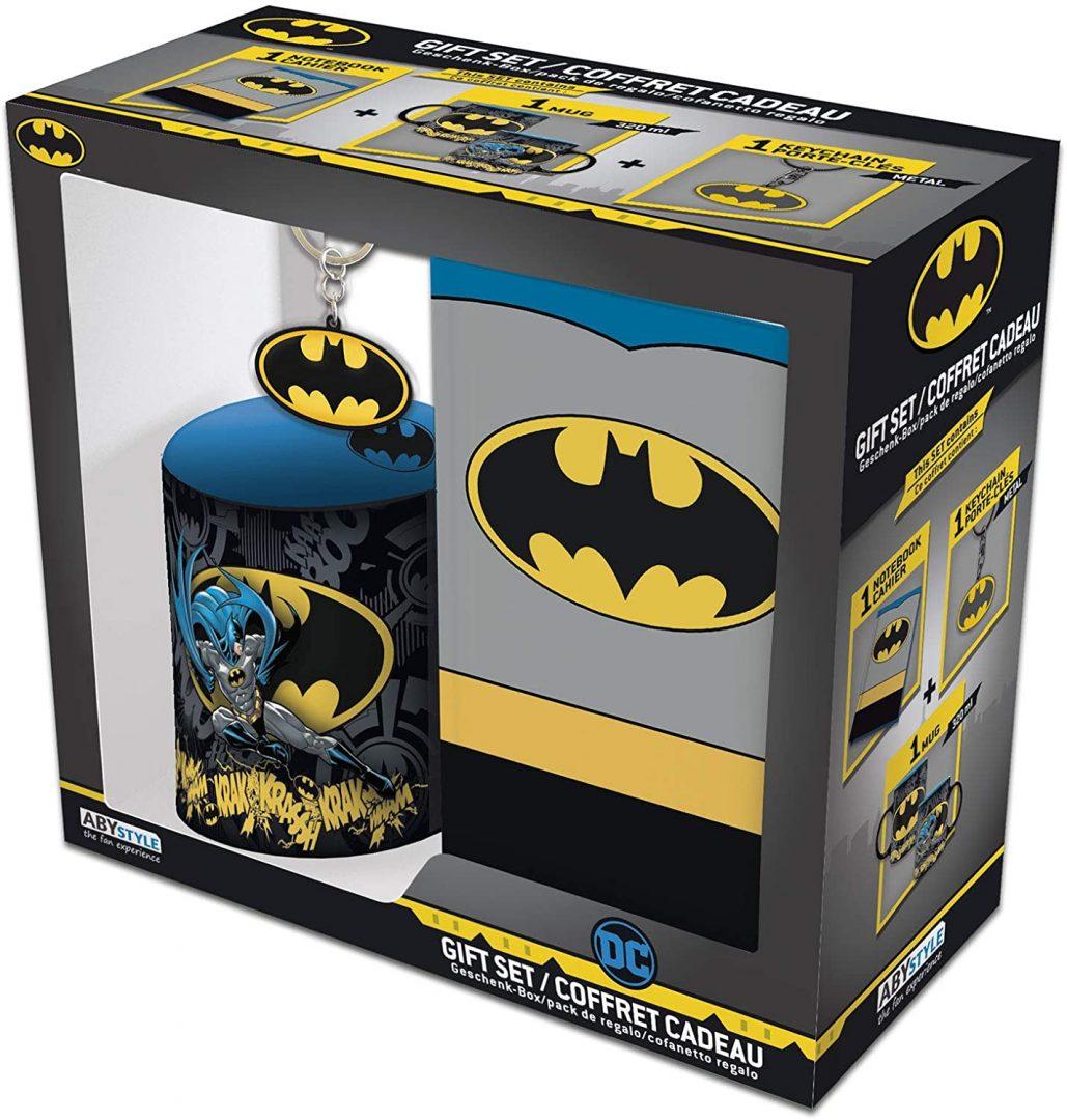 Set de Regalo Harley Quinn AbyStyle Batman DC Comics Set de Regalo X 1 Cuaderno, 1 Mug y 1 Llavero