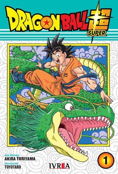 Manga Dragon Ball Super 1 Ivrea Dragon Ball Anime