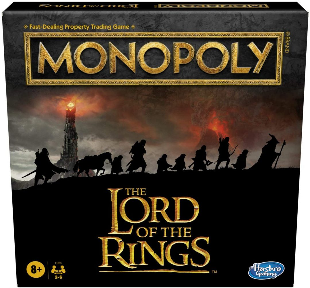 Monopoly Hasbro Gaming  The Lord of The Rings Edition (Exclusivo)