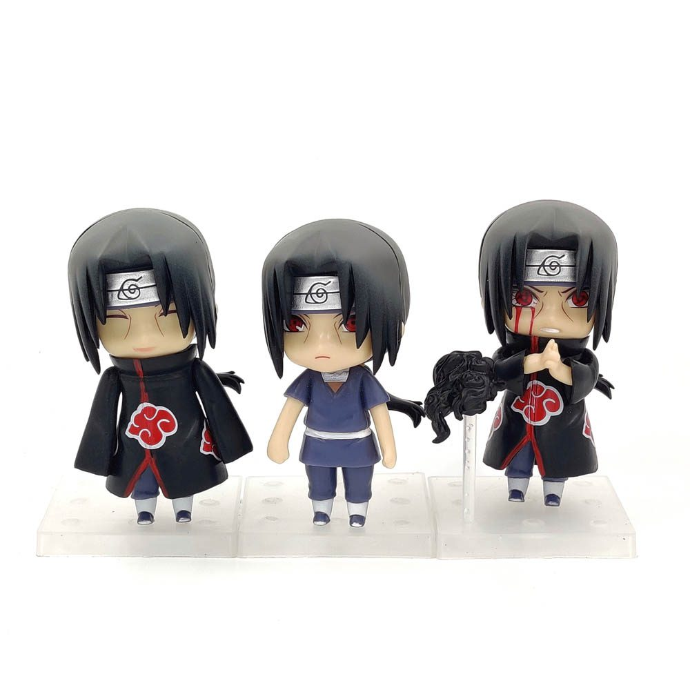 Figura Itachi Nendoroid Naruto Shippuden Anime Varios Unidad (Copia)