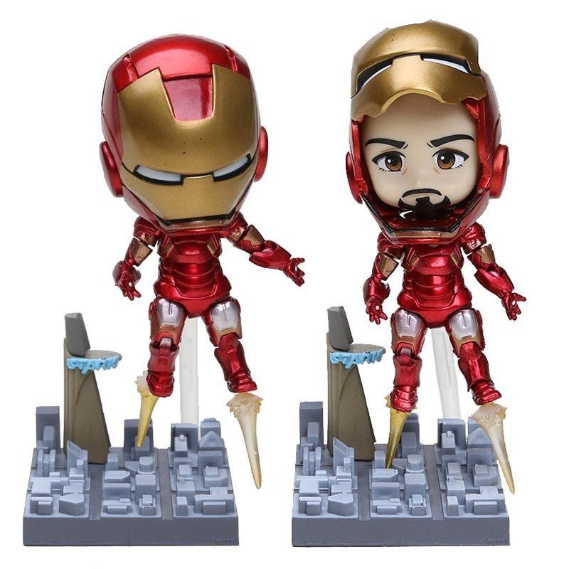 Figura Iron Man PT Marvel Tipo Nendoroid