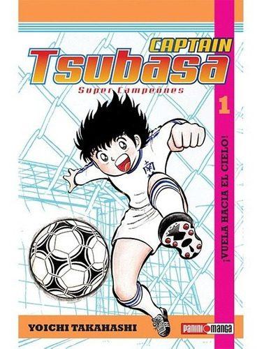 Manga Capitan Tsubasa Panini Anime Pack X 2 Primeros Tomos