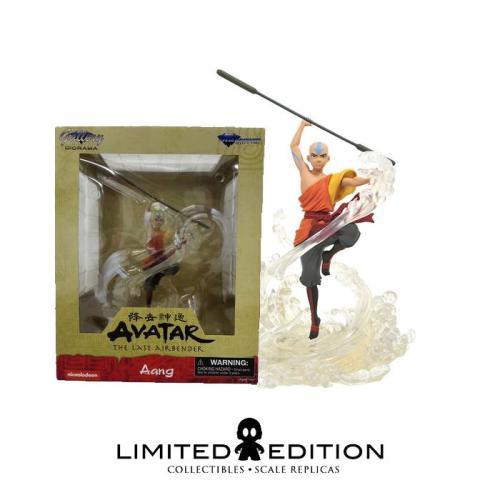 Figura Aang Diamond Gallery Avatar: La Leyenda de Aang Animados Diorama
