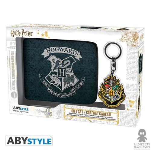 Set de Regalo Hogwarts AbyStyle Harry Potter Fantasía Set de Regalo X 1 Llavero y 1 Billetera