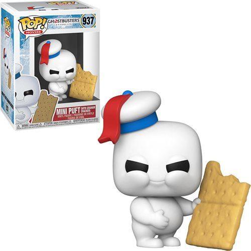 Figura Mini Puft with Graham Cracker Funko Pop Ghostbusters: Afterlife Terror (Pre-Venta Llegada Aproximada Febrero - Marzo 2022)