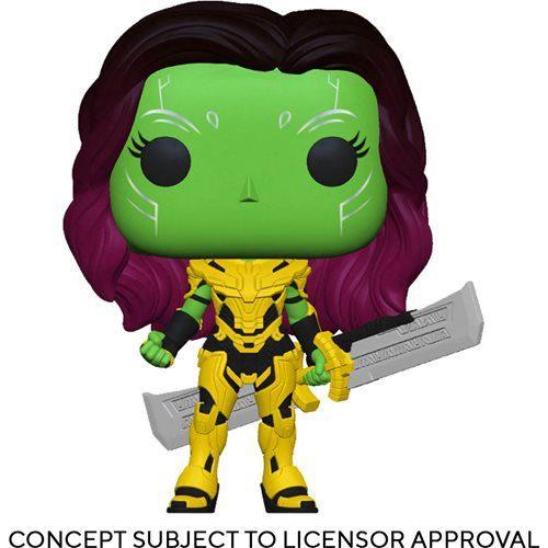 Figura What If... Gamora Blade of Thanos Funko Pop Marvel (Pre-Venta Llegada Aproximada Febrero - Marzo 2022)