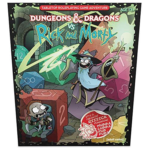 Juego de Mesa Calabozos Y Dragones Rick y Morty Animados Edición