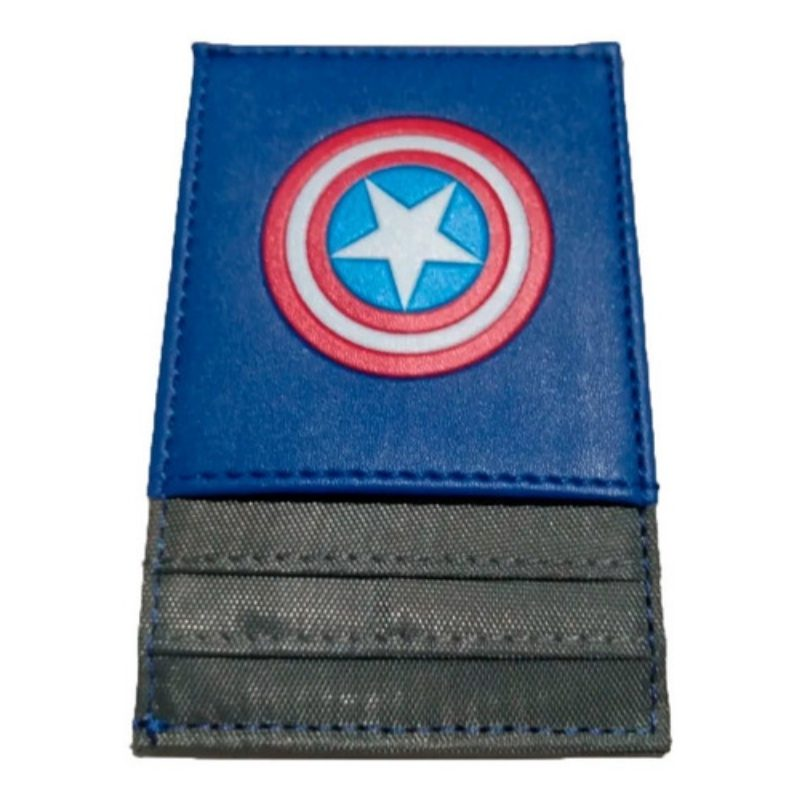 Portadocumentos Capitan America Marvel Color Azul