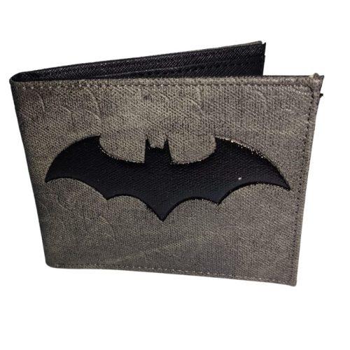 Billetera Batman PT DC Comics Color Gris