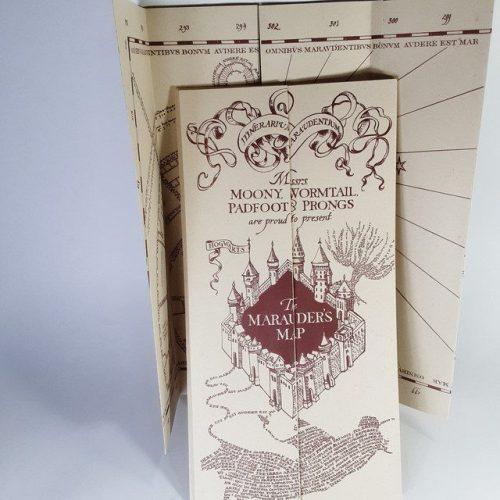 Replica Mapa del Merodeador PT Harry Potter Fantasía Pequeño