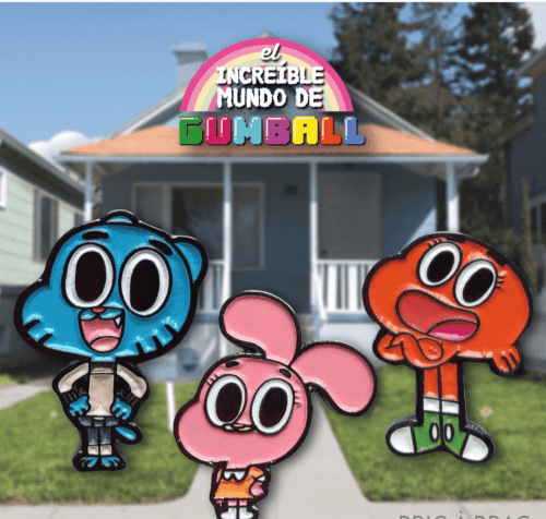 Pin Gumball TooGeek El Maravilloso Mundo de Gumball Animados Color