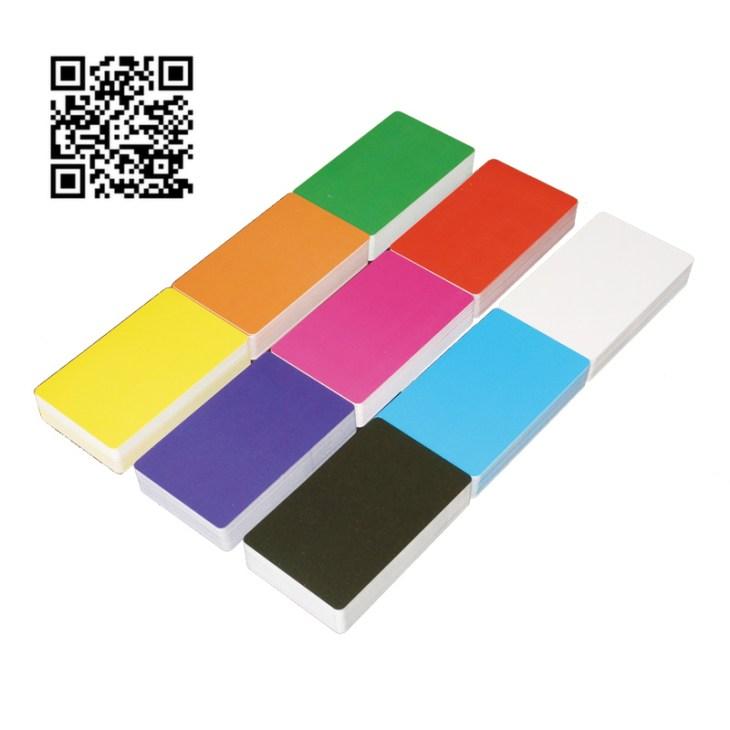 Заготовки пластиковых карт - цвет