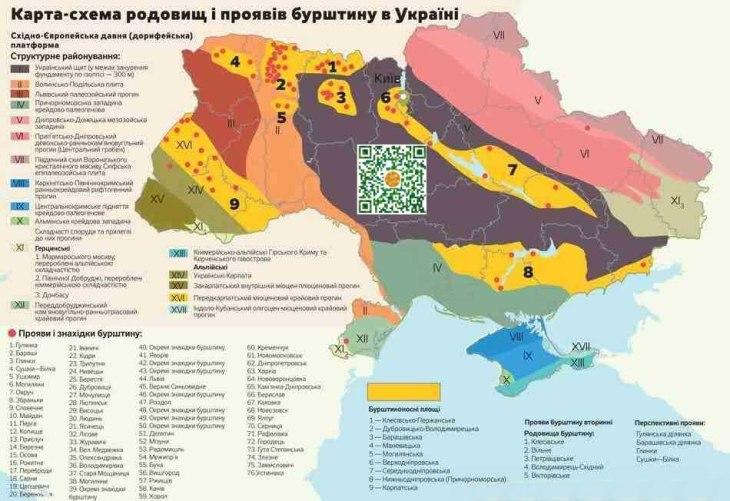Добыча янтаря в Украине