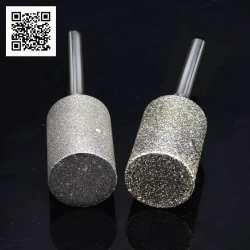 Алмазный бор для снятия коры с янтаря