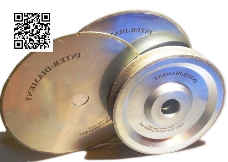 Круги Inter-Diament для обработки янтаря