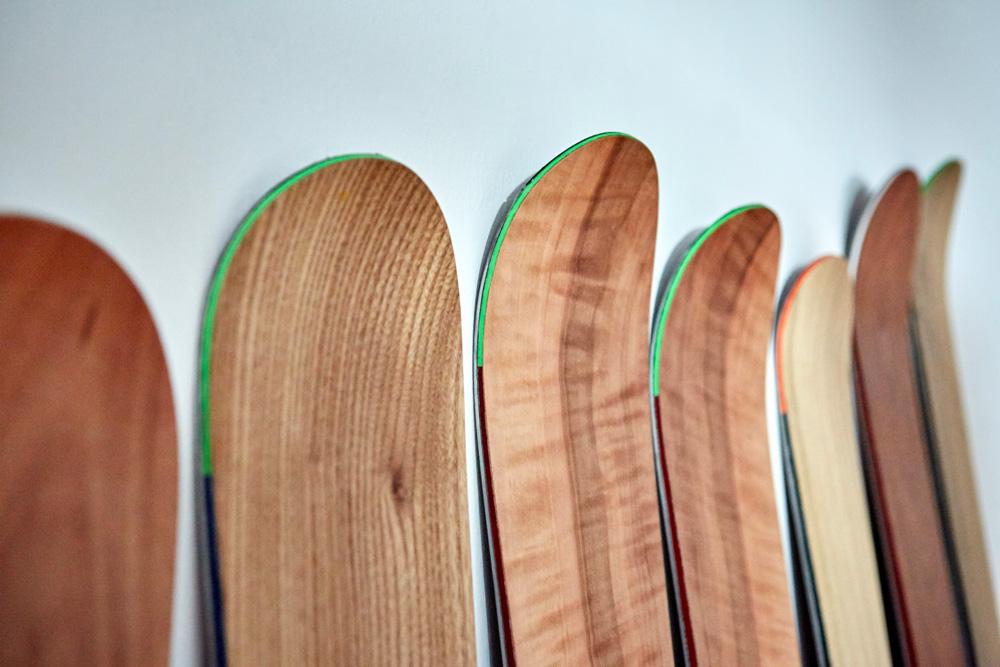 ski sleets bauen