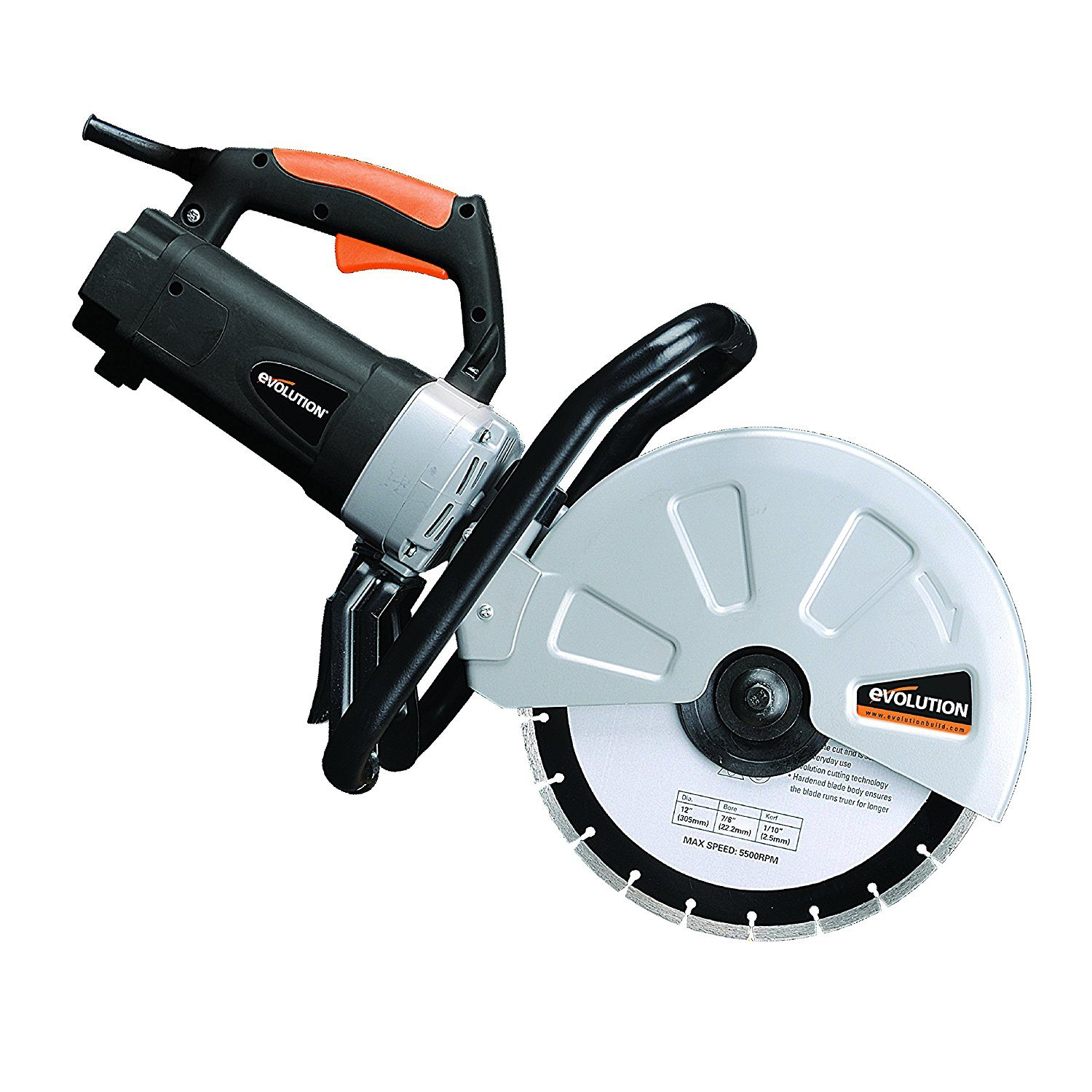 Evolution 2400W Electric Concrete Saw