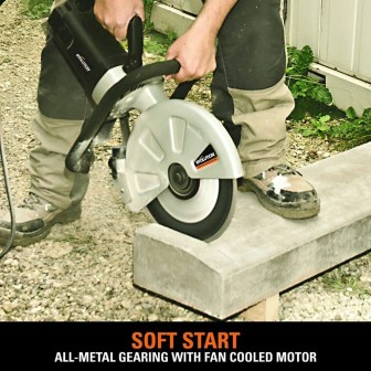 Evolution Electric Concrete Saw Soft Start