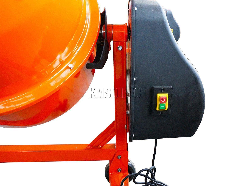 FoxHunter Cement Mixer Controls