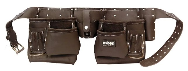 number ten rated tool belt pouch