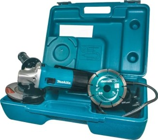 Picture of a Makita angle grinder