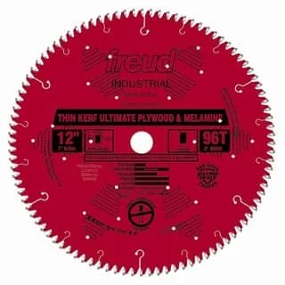 Freud LU79R012 Thin Kerf Ultimate Plywood & Melamine Saw Blade