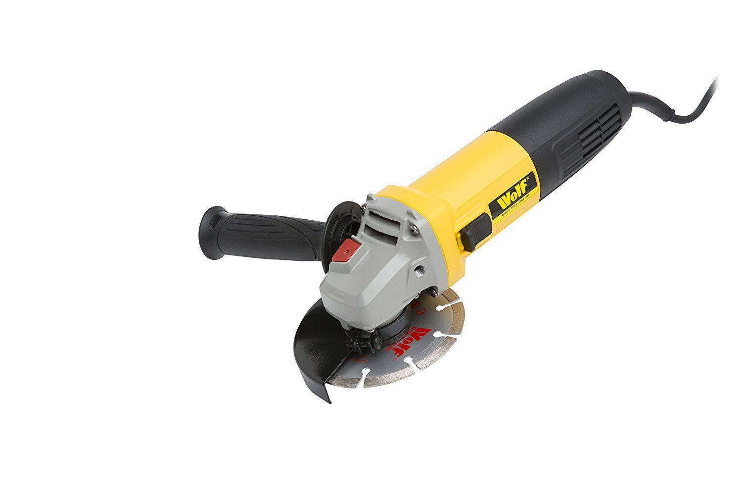picture of a Wolf Angle Grinder 115mm 850W with Diamond Disc
