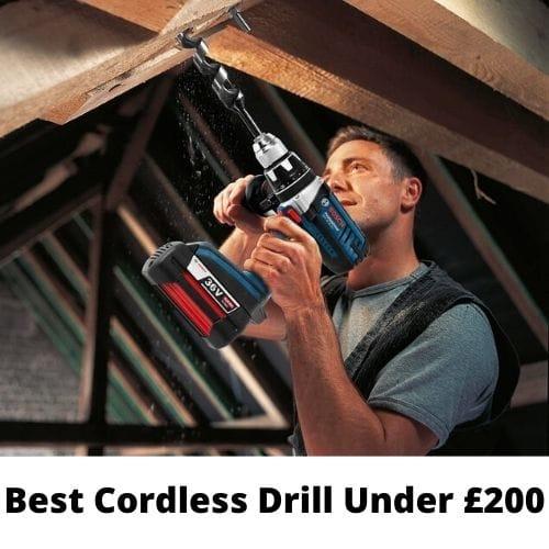 uk cordless drill under 200