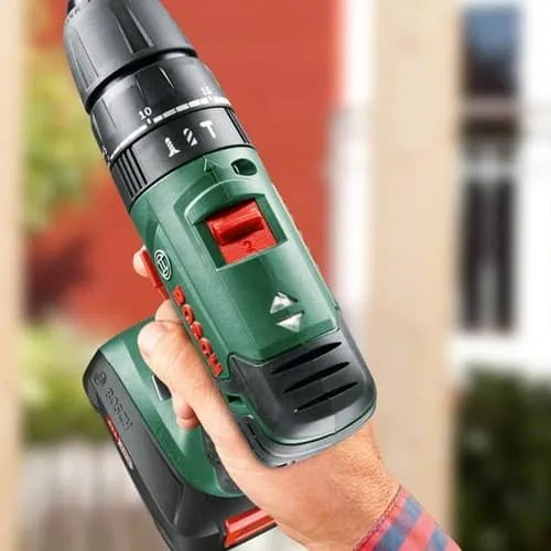 hammer settings on a drill driver