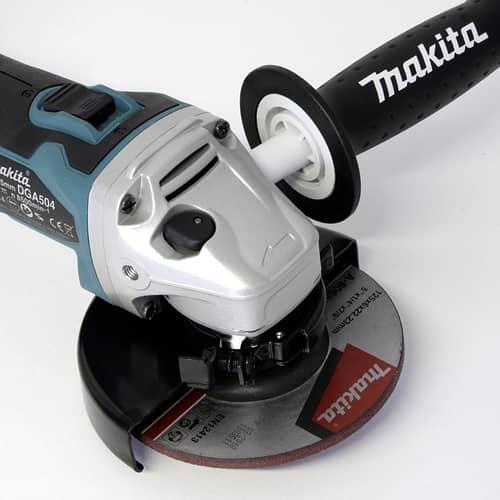 Makita DGA 504 Z DGA504Z 18v 125mm Brushless Angle Grinder
