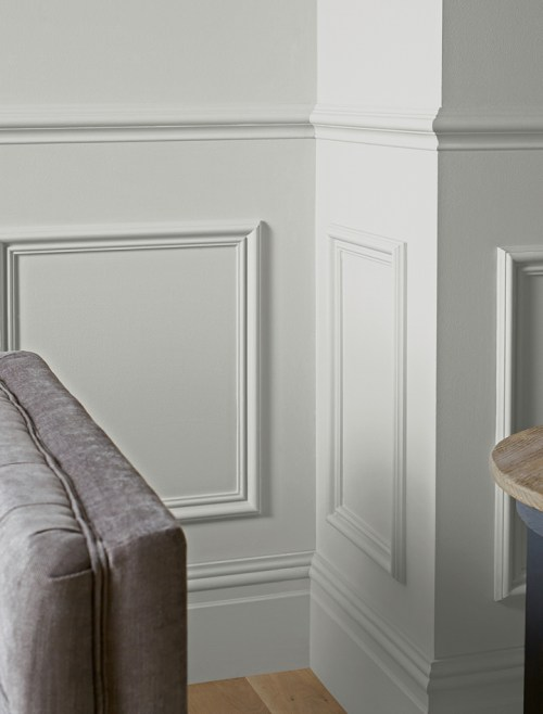 Picture of eggshell paint finish