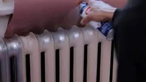 How to spray paint a radiator