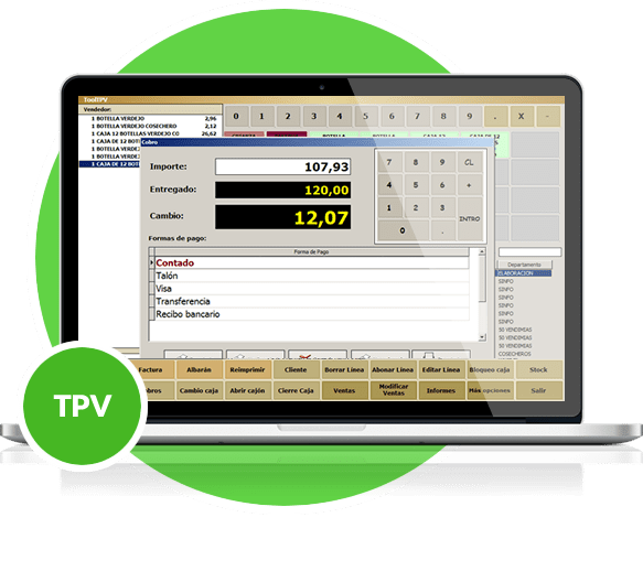 Software Agro TPV