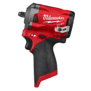 Milwaukee? 2554-20 M12 FUEL? Cordless Impact Wrench, 3/8 in Drive, 3200 bpm, 250 ft-lb Torque, 4.8 in L, Tool Only
