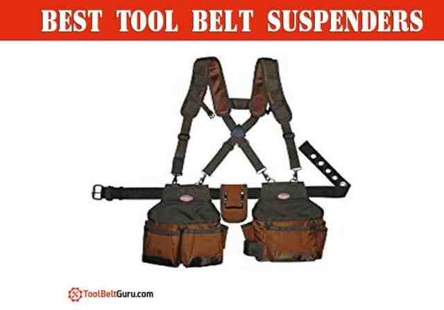 best tool belt suspenders