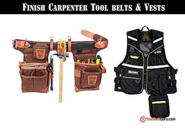 Finish Carpenter Tool belts & Vests