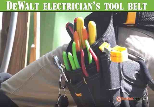 DeWalt electrician's tool belt