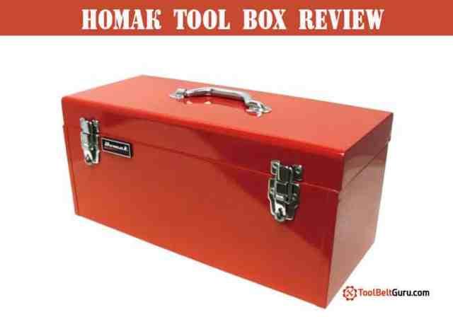 homak tool box review
