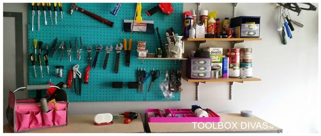 tools in workshop TM