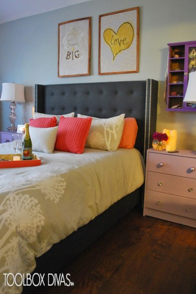 romantic bedroom tips - Toolbox divas